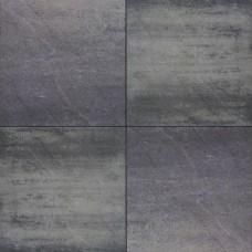 H2O excellent relief square 60x60x5 cm nero grey emotion