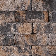 Splitrocks hoekstuk strak 11x13x29 cm grigio camello