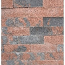 Splitrocks hoekstuk strak 11x13x29 cm bruin zwart