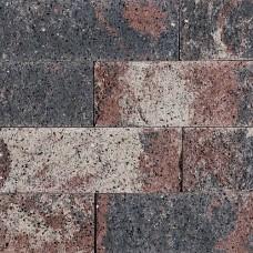 Splitrocks strak 15x15x60 cm tricolore