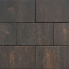 Patio square 30x20x6 cm marrone viola