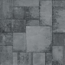 Straksteen wildverband 5 cm grijs zwart