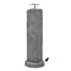 Wegzakpreventie t.b.v. betonpalen/-poeren