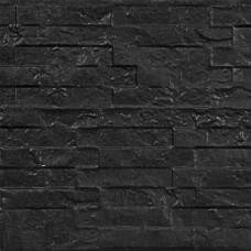 Betonnen onderplaat antraciet 4,8x36x184 cm leisteenmotief