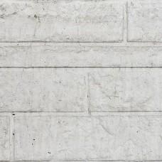 Betonnen onderplaat grijs 4,8x26x184 cm rotsmotief smal