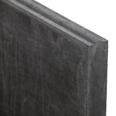 Betonnen stapelplaat antraciet 3,5x24x184cm mes-en-groef