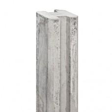 Betonpaal grijs E-sleuf 10x10x270 cm