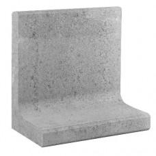 L-element 50x30x50 cm grijs