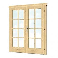 Dubbele deur D2 159 x 190 cm 40.2011
