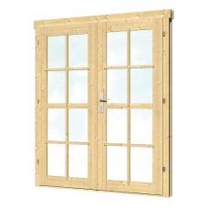 Dubbele deur DL8 159x188 cm 40.2031
