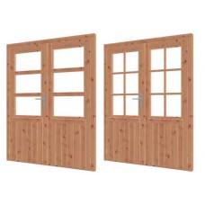 Lariks/Douglas dubbele deur 164.6 x 199,6 cm 42.7960