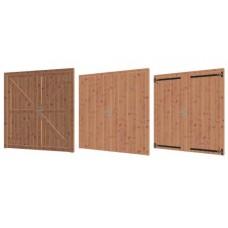 Lariks/Douglas dubbele deur 164.6 x 199,6 cm 42.7962