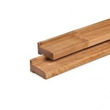 Fundamentbalk hardhout 300 cm