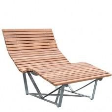 Bangkirai Lounge stoel 103492