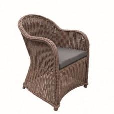 Wicker luxe stoel Lawrence licht bruin