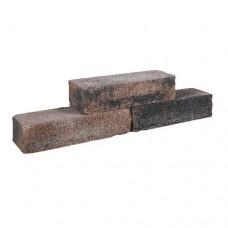 Cottage walling 40x15x10 cm bruin zwart