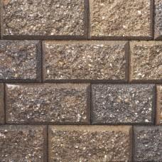 Crack en stack 15/23x20x10 cm bruin zwart genuanceerd
