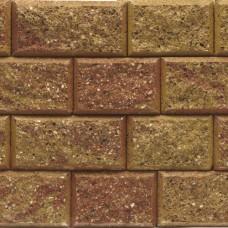 Crack en stack 15/23x20x10 cm geel rood genuanceerd