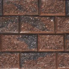 Crack en stack 15/23x20x10 cm rood zwart genuanceerd