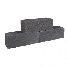 Palinoblock strak 30x15x15 cm antraciet
