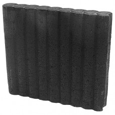 Minirondoband palissade 6x40x50 cm zwart
